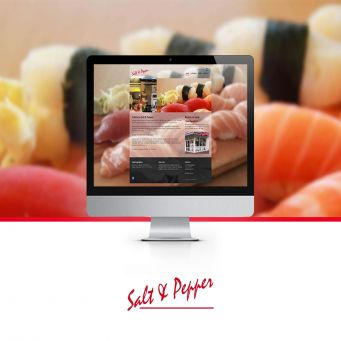 Nieuwe website Salt & Pepper